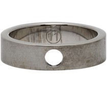 Brushed Cut Out Ring