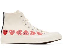 Converse Edition ple Hearts Chuck 70 High Sneaker