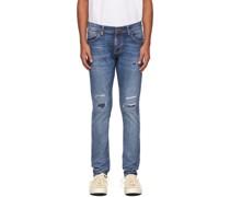 Strumpfhose Terry Jeans