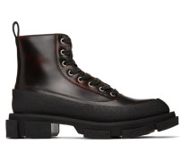 Second/Layer Edition Brushed Combat Stiefel