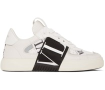 Elastic Low-Top Sneaker