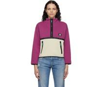 Colorblocked Terrain Half-Zip Sweatshirt