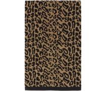 & Leopard Jacquard Beach Tuch