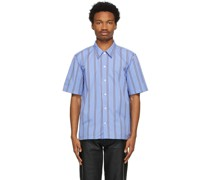 Striped Space Short Sleeve Hemd