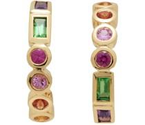Riviere Rainbow Gemstone Ohrringe