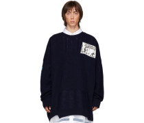 Oversized Patch Pullover