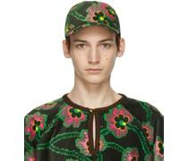 Ken Scott Edition Velvet Floral Cap