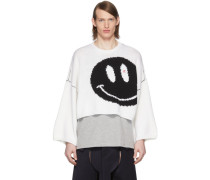 Wool Smiley Pullover