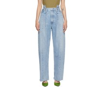 Pieced Angle Jeans