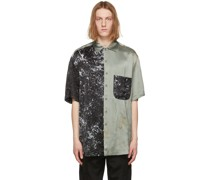 & Oversized Splatter Hemd