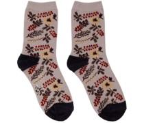 Mole Flower Socke