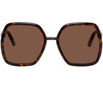 Square Horsebit Sonnenbrille