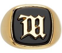& Monogram Ring