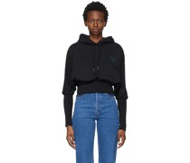 Crest Cropped Hoodie