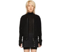 Wool & Cashmere Bomber