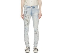Distressed ed Chitch Jeans