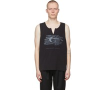 My Own Private Planet Layered Literal Tank Top