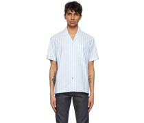 & Camp Collar Short Sleeve Hemd