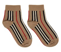 Stripe Short Socke