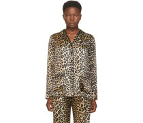 Silk Leopard Shirt