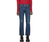 e port Straight Jeans