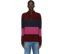 Three Block Half-Zip Pullover