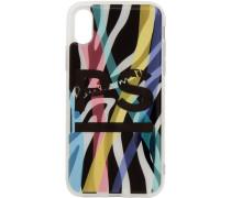 Neon Zebra iPhonecase