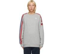 3D Trefoil 3-Stripes Sweatshirt