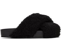 Fuzzy Sandale
