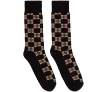 Check Gentleman Socke