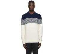 & Wool Longsleeve Polo