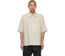 Oversized Patch Hemd