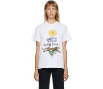 Cheetah Flower Tshirt