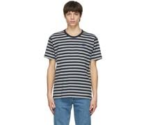 & Striped Nash Patch Tshirt