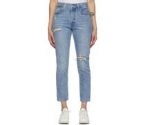 Distressed 501 ny Jeans