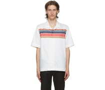 Striped Short Sleeve Hemd