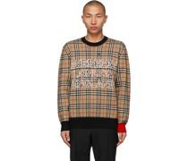 Jacquard Check Pullover