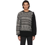 & Patchwork Pullover