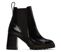 Leather Mallory Heeled Stiefel