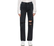 Lana Mid-Rise Vintage Straight Jeans