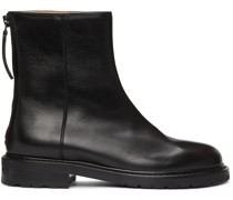 Leather Officer Stiefel