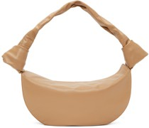 Tan Double Knot Tasche