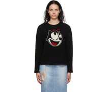 Felix The Cat Edition Jacquard Pullover