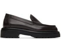 Leather Chunky Loafer