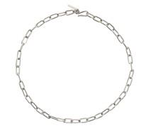 Small Rectangular Chain Halskette