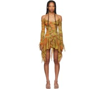 Silk Kerchief Kleid