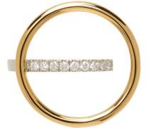 Fine Saturn Diamond Ohrschmuck