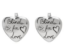 Blind For Love Heart Ohrstecker