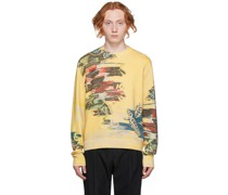 Abstract Florals Pullover