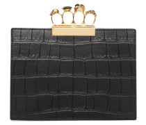 Croc Small Four Ring Clutch